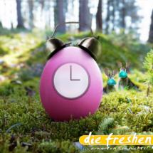 DUO - freshe Ostern 2020 Wecker-Uhr